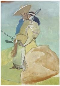 cowboy kuss by siegfried anzinger