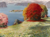 de borromeïsche eilanden (the borromean islands) by firmin baes