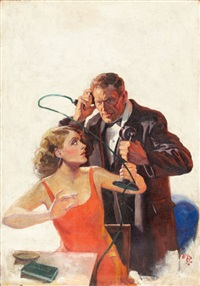 scotland yard, pulp cover, may by august bleser jr.