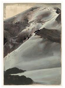 untitled (chalck) by jan de maesschalck