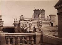 toits du chateau de saint-germain by charles marville