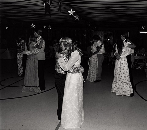 our eighth-grade graduation dance . . . by bill owens