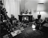 untitled (reagan on t.v.) by bill owens