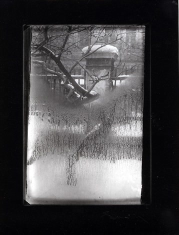 "from the series, ""the window of my studio"" by josef sudek"