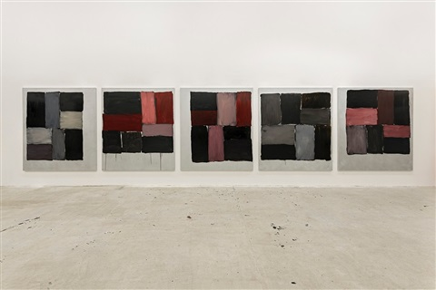 kind of red by sean scully