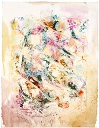 untitled (xi/24/92), from the pilchuck series by nancy graves