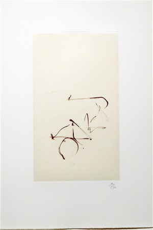 return, (from three poems by octavio paz) by robert motherwell