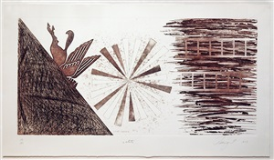 star ladder 2nd state by james rosenquist