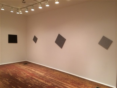 installation view from second room. by kocot and hatton