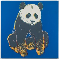 panda by andy warhol