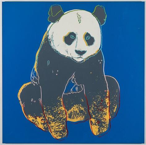 panda by andy warhol