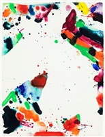 untitled (sf 69-1003) by sam francis