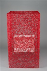 state of being (suitcase) by chiharu shiota