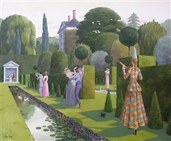 water garden masque by alan parry