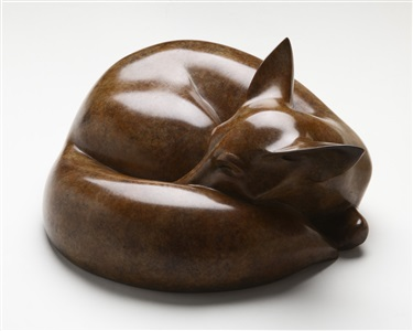 renard endormi / sleeping fox by jonathan knight