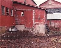 barn, lampman farm, ancramdale, ny (winter) by james welling