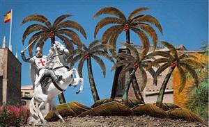 templario y palmeras by marcos lópez