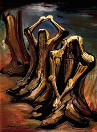 rescoldo by david alfaro siqueiros
