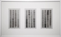 dachau 1974 -­- graphed representation of 4-­-channel video work by beryl korot