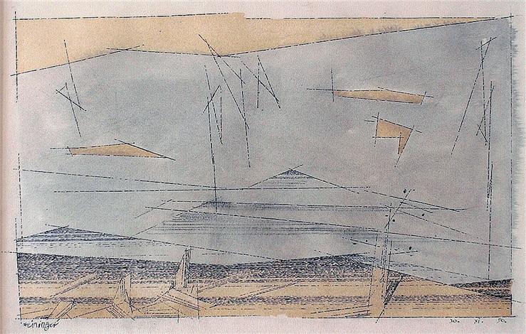 connecticut hills by lyonel feininger