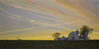 saturday night on the farm (sold) by del-bourree bach