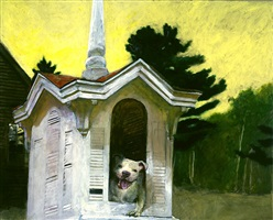 that dog's house by jamie wyeth