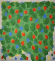 highland in green #1 by gershon iskowitz