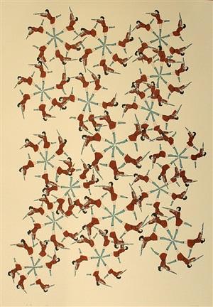 snowflake defense by marcel dzama