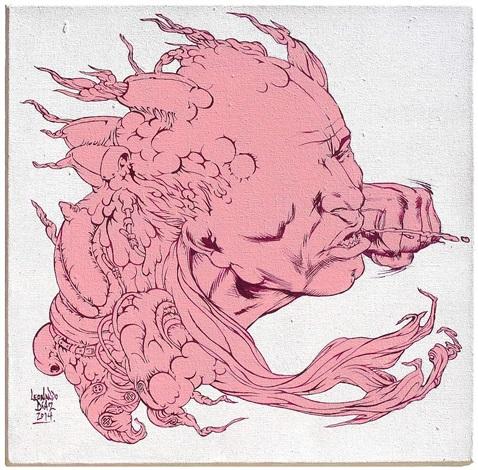 de roze pad iii by leonardo díaz