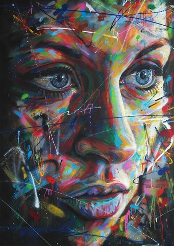 lena pose 3 by david walker