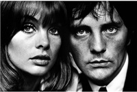 terence stamp and jean shrimpton, london by terry o'neill