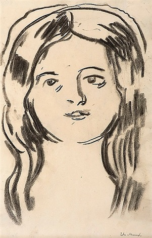 mossepiken (the girl from moss) by edvard munch