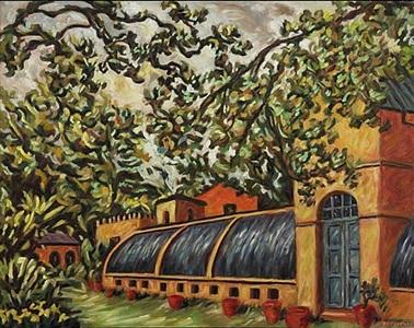 palace greenhouse (schloss glienicke) by helen berggruen