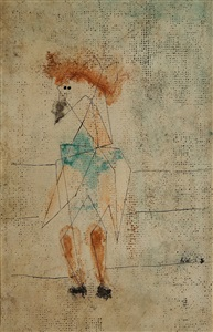 des choses mouvantes of moving things by paul klee