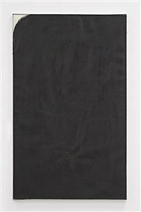 schwarze zumalung by arnulf rainer