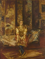 la danse des mains, vaslav nijinsky by jacques emile blanche