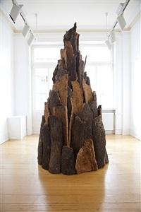 david nash columns, comets and cork by david nash