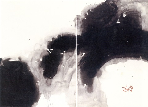 untitled no.29 diptych by t'ang haywen