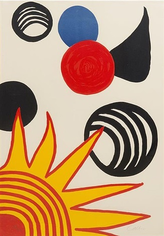 joys of neophyte by alexander calder