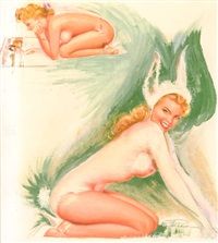 bunny pin-up by earl macpherson
