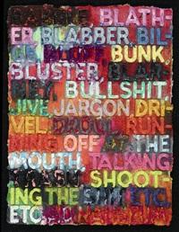 babble by mel bochner