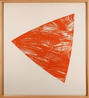 untitled (red state i) by ellsworth kelly
