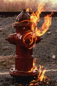 hydrant fire by roman de salvo