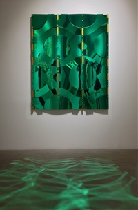 untitled (green) by thomas glassford
