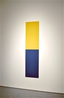 untitled (sulfur yellow, azure blue) by thor vigfusson