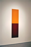 untitled (yellow orange, purple red) by thor vigfusson