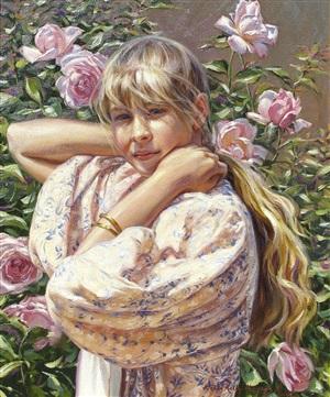"""summer roses"" by terri kelly moyers"