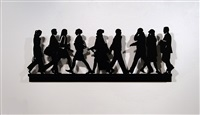 city walkers 1 by julian opie