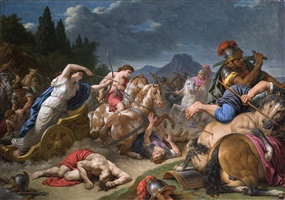 bellona calling mars to war by louis jean françois lagrenée