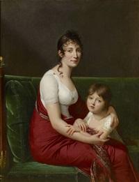 portrait of madame joseph cornudet-desprez by robert jacques francois faust lefevre